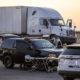 A male truck driver was found deceased inside a semi Saturday evening in Hesperia. (Hugo C. Valdez, VVNG.com)