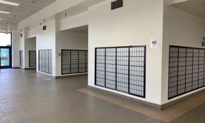 Post office boxes inside the Victorville post office on Green Tree Blvd. (Hugo C. Valdez, VVNG.com)