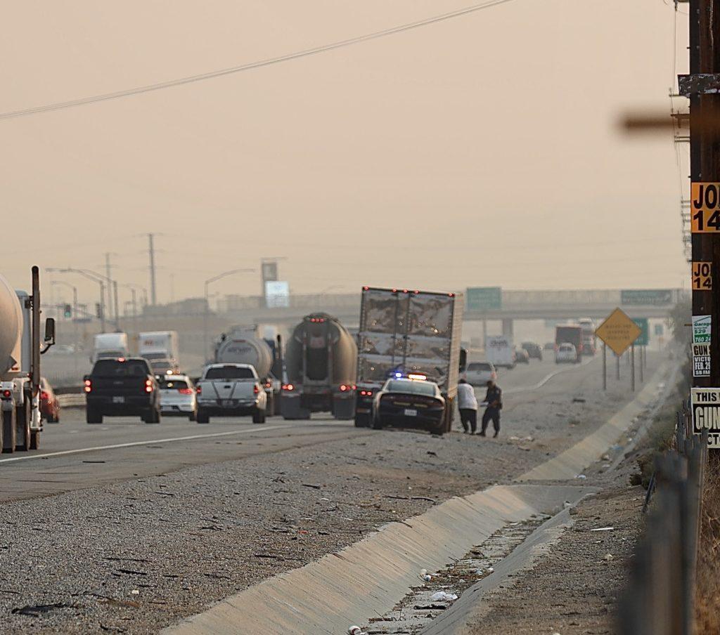 15 freeway traffic accident