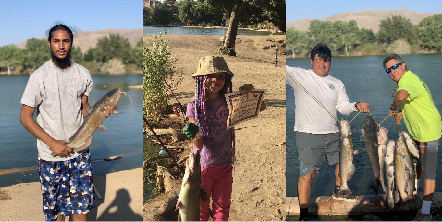 Hesperia Lake Fishing Report, 9/2/2020