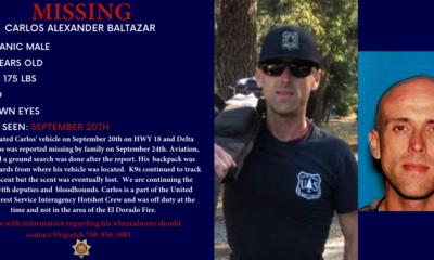 firefighter killed while battling the el dorado fire id d as charles morton vvng com victor valley news group el dorado fire id d as charles morton