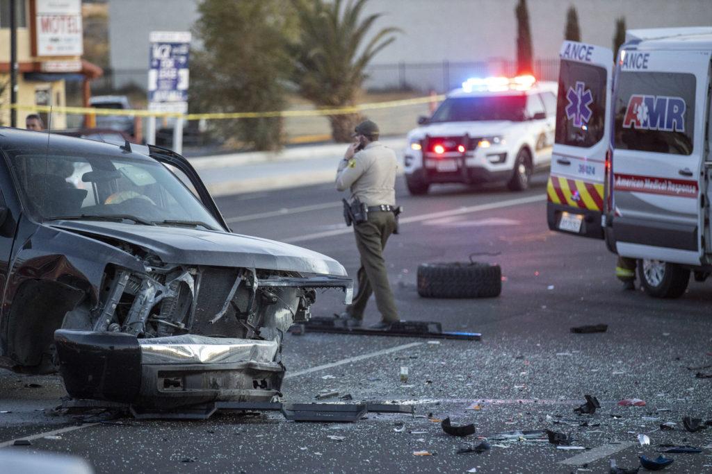 major injury crash on Village Drive
