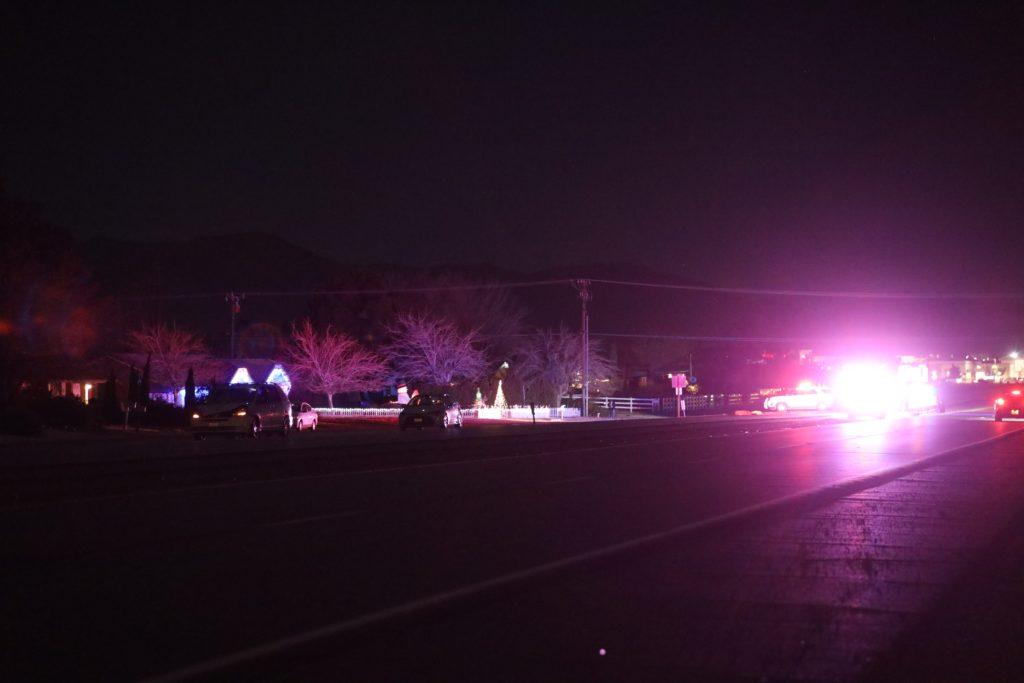 pedestrian killed on highway 18 in Apple Valley