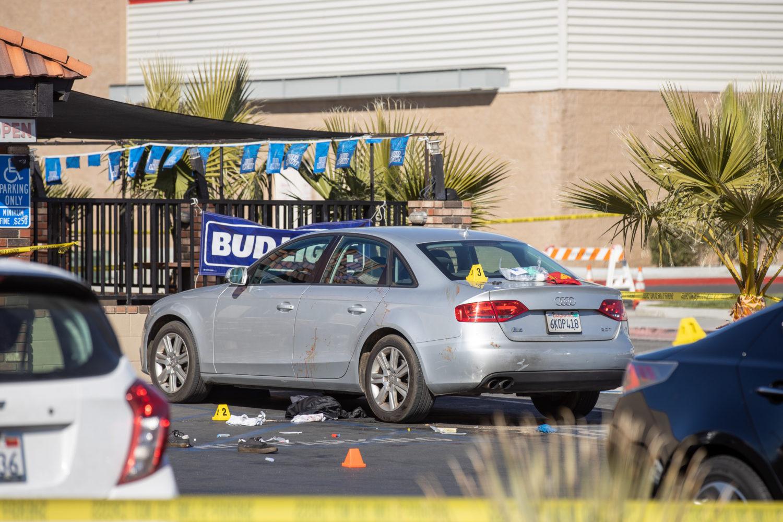 Bombshells bar and grill Victorville homicide investigation