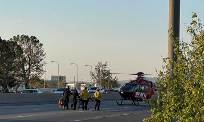 pedestrian struck by vehicle on 15 freeway