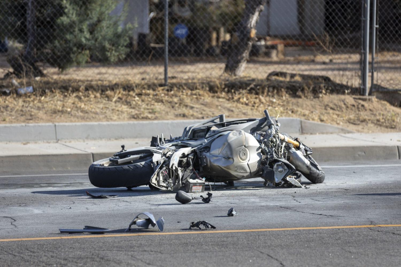 Crash on La Mesa Road in Victorville