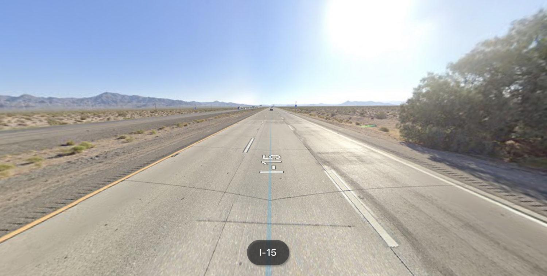 crash on nb 15 freeway near baker