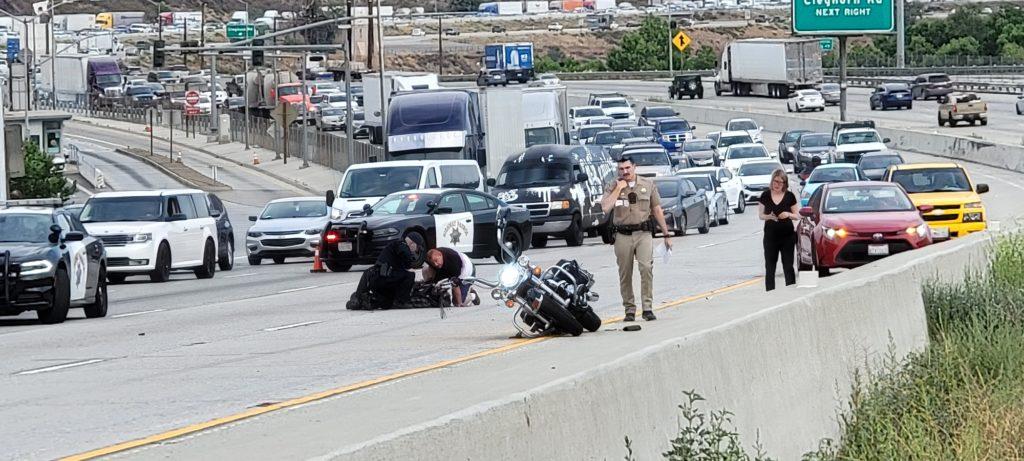 cajon pass motorcycle crash