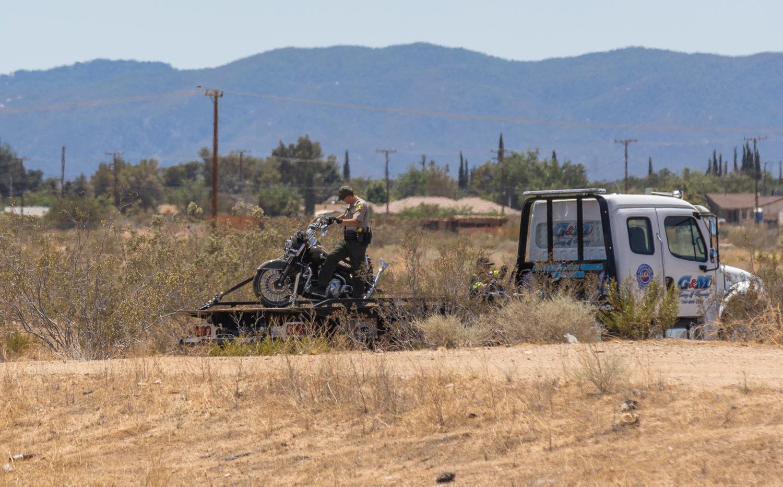 Motorcyclist killed in crash on Hesperia road