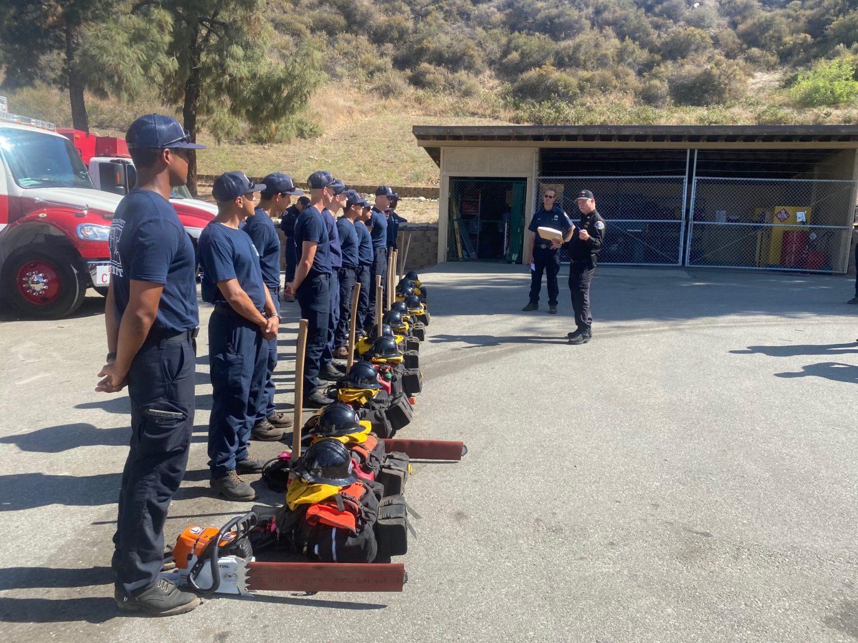 New San Bernardino County Fire Wildland Hand Crew Ready for Fire Season