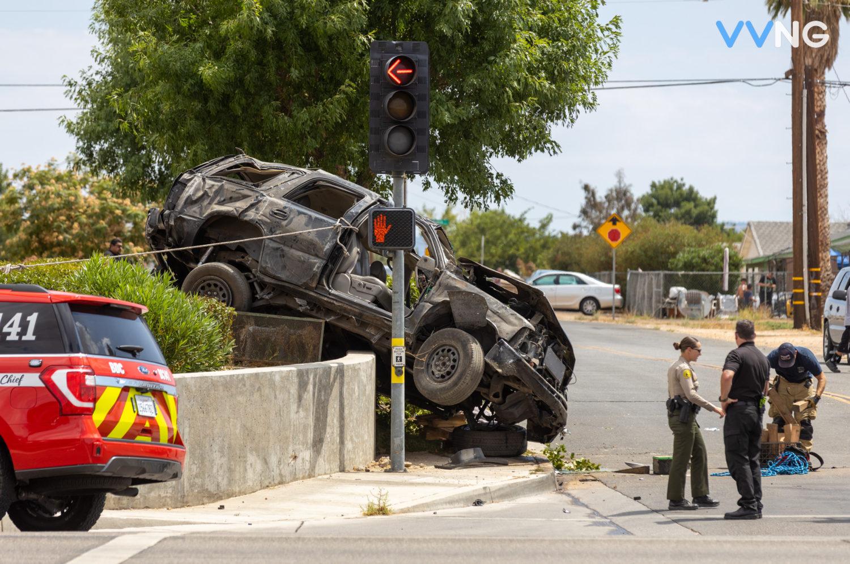 bear valley road crash