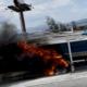 boat fire on 15 freeway in hesperia